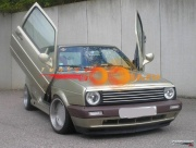 Накладки на фары  Volkswagen GOLF 2 (1983-1992)