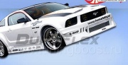 Накладки на пороги Hot Wheels Widebody Ford Mustang GT V8 (2005-2008)
