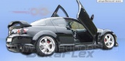 Накладки на пороги R-speed Mazda RX–8 (2003-2008)