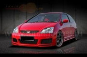 Бампер передний Mugen hatchback Honda Civic VII (2001-2005)