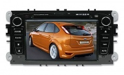 Штатная магнитола PHANTOM DVM-8500G i6 black (Ford Mondeo, S-Max, Galaxy, Focus II) SD