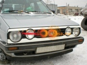 Накладки на фары c прорезями Volkswagen GOLF 2 (1983-1992)