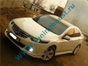 Накладки на пороги Type S Honda Accord 8