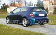 Бампер задний Auto R hatchback Honda Civic VII (2001-2005)