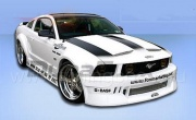 Бампер передний Hot Wheels Widebody Ford Mustang GT V8 (2005-2008)