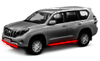 Защита бампера Ssang Yong Action Sport (2007-2011)